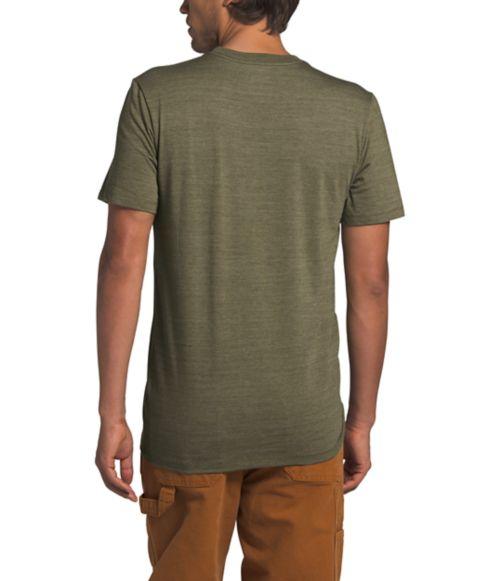 Men's Short Sleeve Logo Marks Tri-Blend Tee-