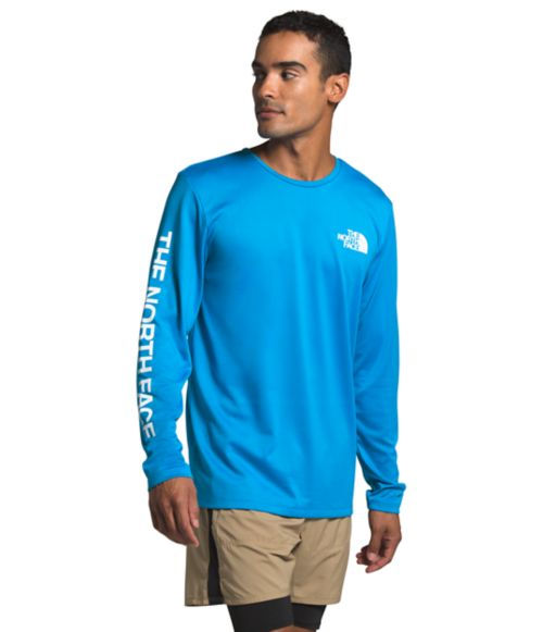 Men's Long Sleeve Reaxion Graphic Tee-