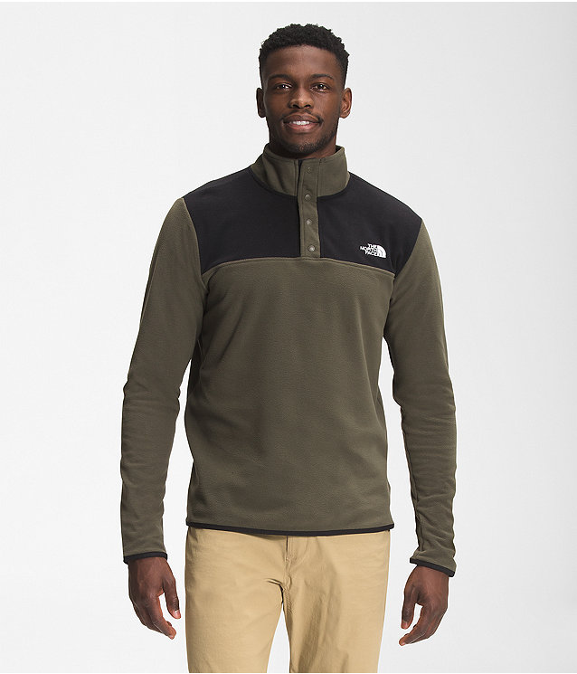 Men's TKA Glacier Snap-Neck Pullover