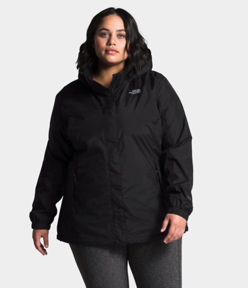 Women's Plus Resolve Jacket   The North Face