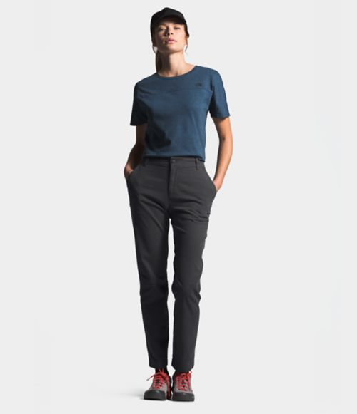 Women's North Dome Cotton Mid-Rise Pant | The North Face