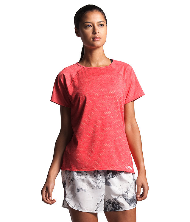 Women's Active Trail Jacquard Short Sleeve
