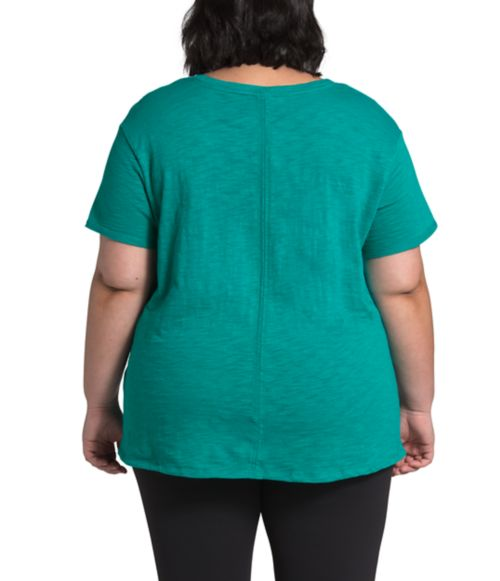 Women's Plus Short Sleeve Emerine Top-