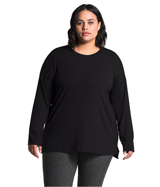 Women's Plus Workout Long Sleeve