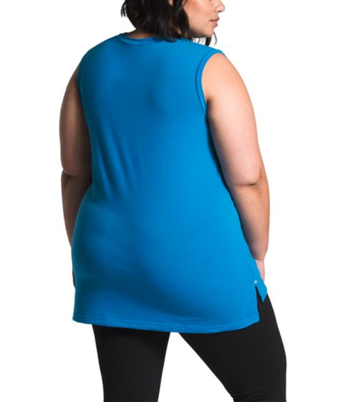 Women's Plus Workout Muscle Tank-