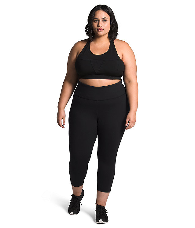 Women's Plus Motivation High-Rise Crop