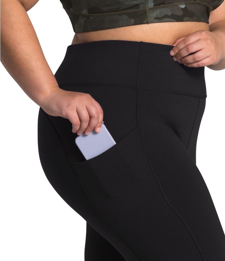 Women's Plus Motivation High-Rise Pocket Crop-