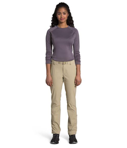 Pantalon Paramount à taille mi-haute pour femmes-