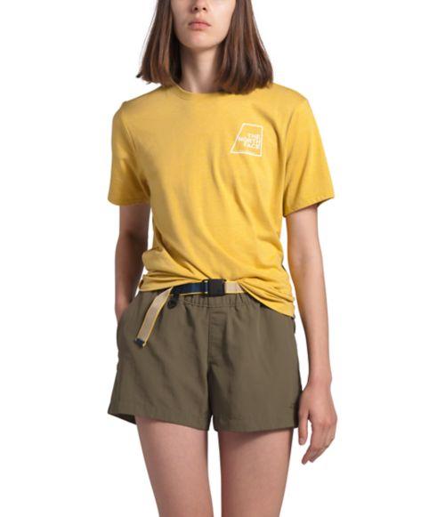 T-shirt Logo Marks trois matières pour femmes-