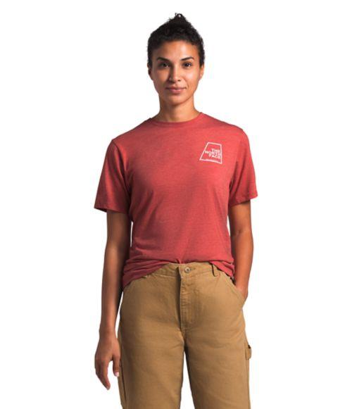 Women's Short Sleeve Logo Marks Tri-Blend Tee-
