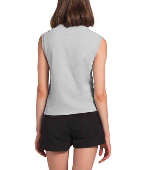 T-shirt sans manches Half Dome pour femmes-