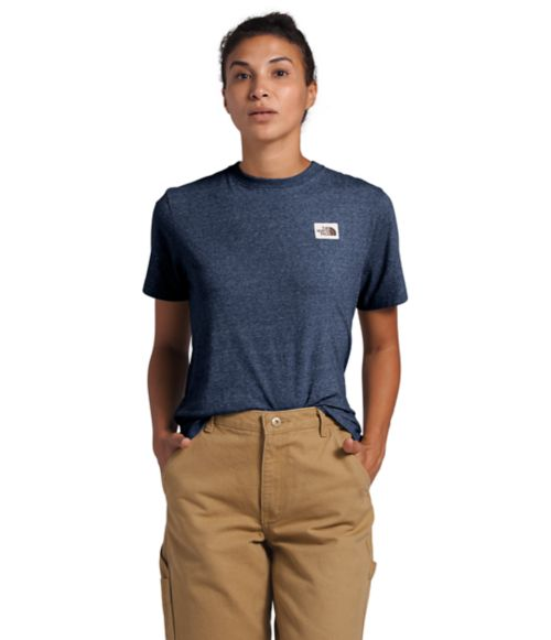Women's Short Sleeve Recycled Materials Tee-