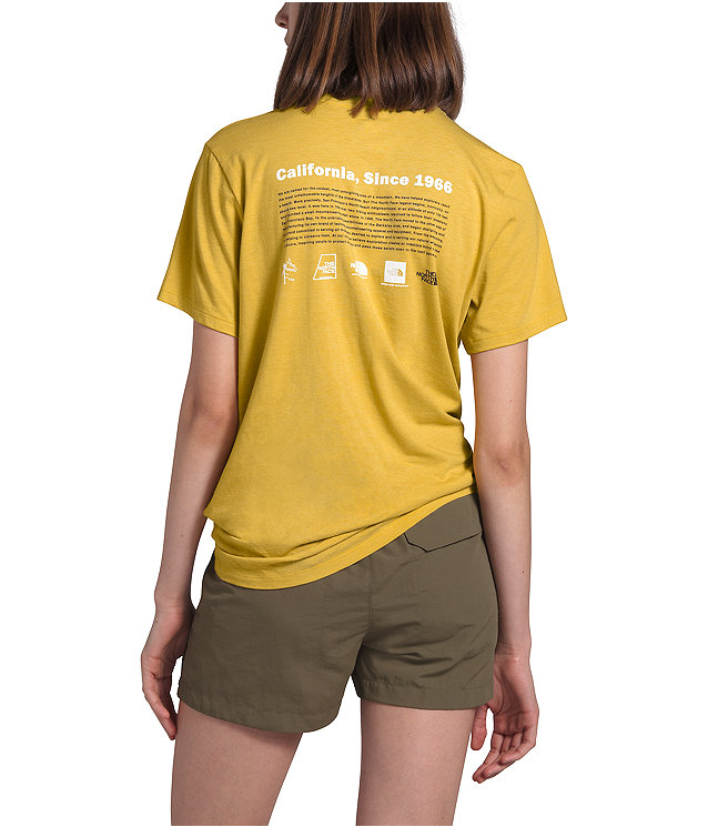 Women's Short Sleeve Tri-Blend Pocket Tee
