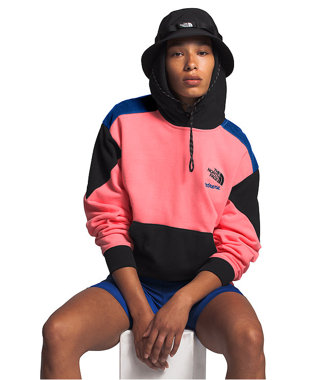 Women's Extreme Cropped Pullover Hoodie