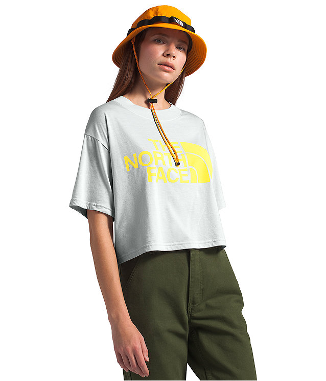 Women's Short Sleeve Half Dome Cropped Tee