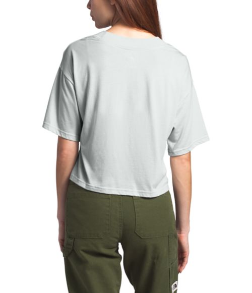 Women's Short Sleeve Half Dome Cropped Tee-