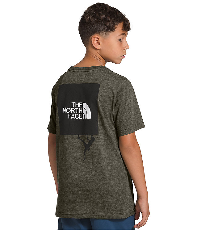 Boys' Short Sleeve Tri-Blend Tee