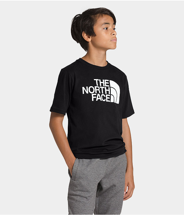 Boys' Short Sleeve Half Dome Tee