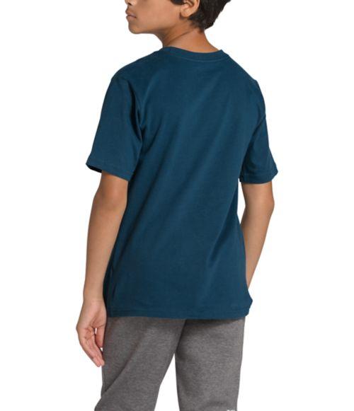 Boys' Short Sleeve Half Dome Tee-