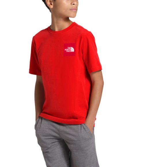 Boys' Short Sleeve Red Box Tee-