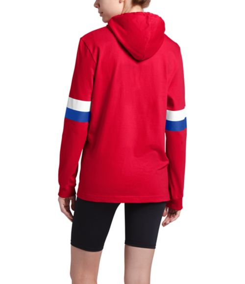 Women's Vintage Varsity Pullover Hoodie-