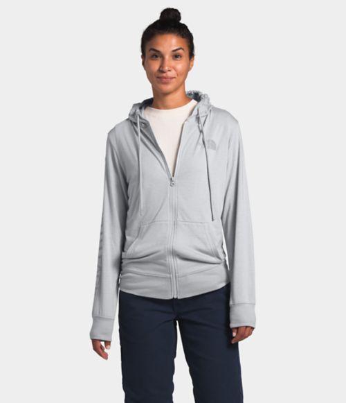 Women's Lightweight Tri-Blend Full Zip Hoodie-