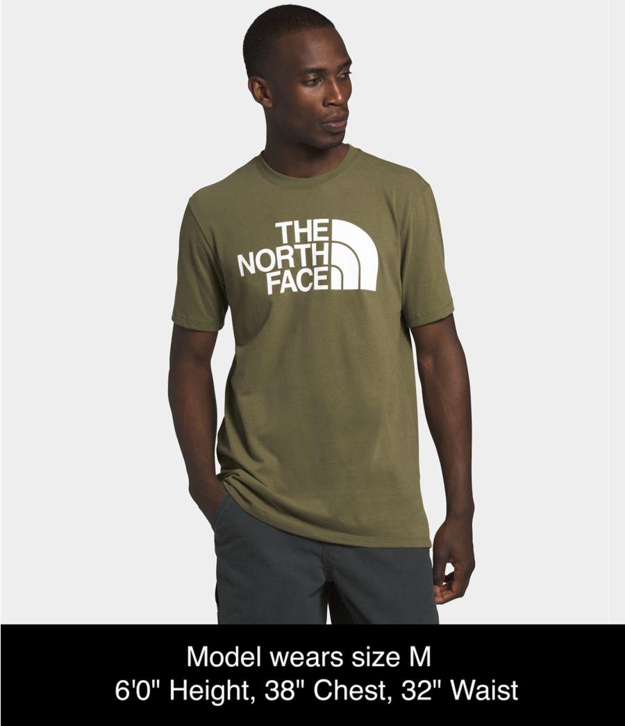 Men's Short Sleeve Half Dome Tee-
