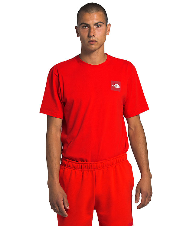 Men's Short Sleeve Red Box Tee