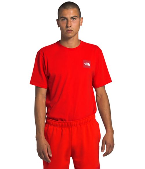 Men's Short Sleeve Red Box Tee-