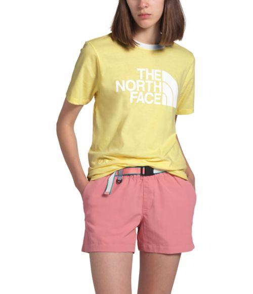 Women's Short Sleeve Half Dome Cotton Tee-