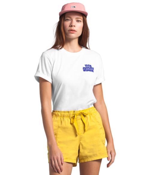 Women's Short Sleeve Logo Haze Tee-
