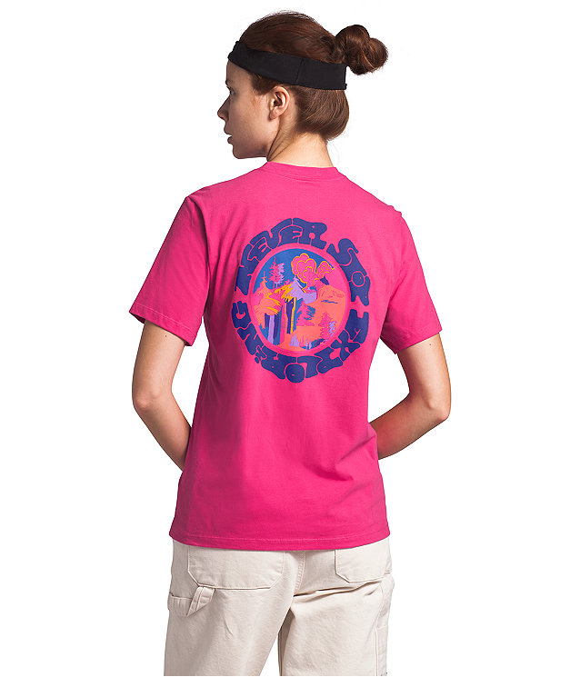 Women's Short Sleeve Logo Haze Tee