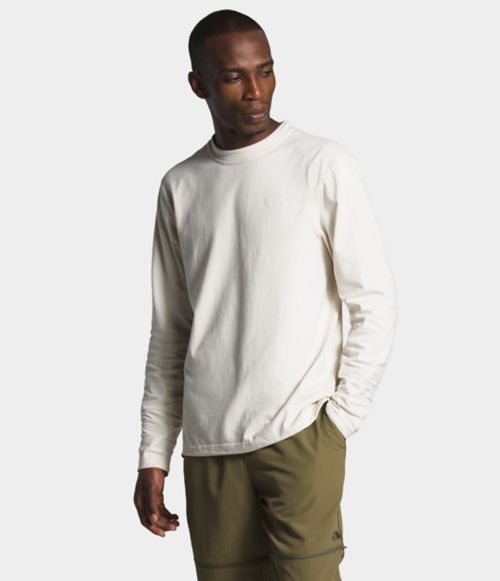 Men's Long Sleeve Woodmont Crew   The North Face
