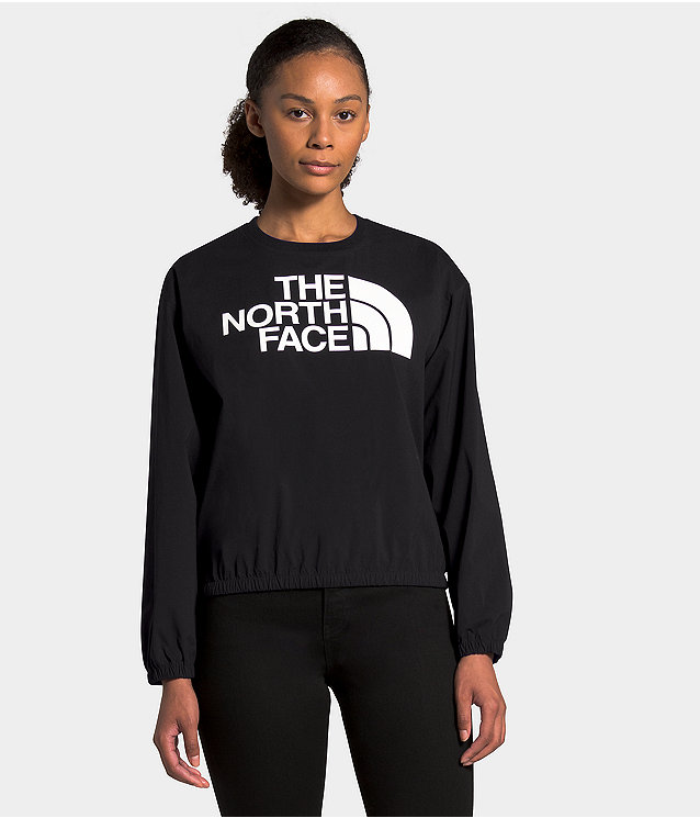 Women's Explore City Woven Pullover