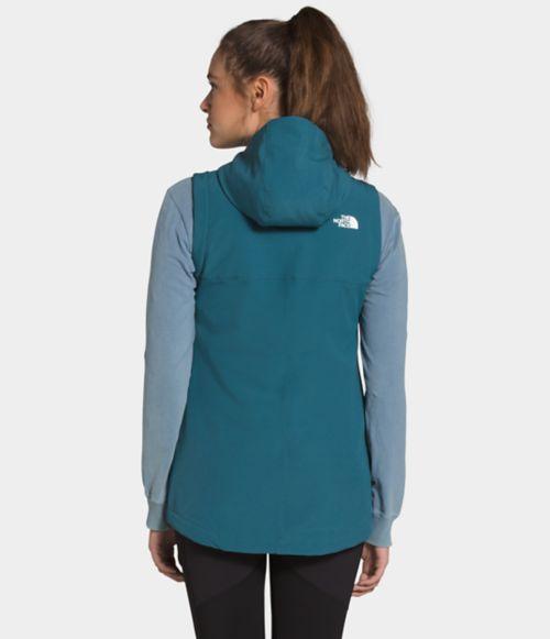 Women's Shelbe Raschel Hooded Vest-