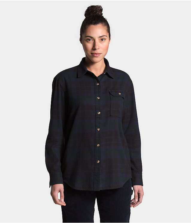 Women's Berkeley L/S Boyfriend Shirt
