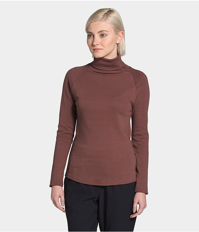 Women's Explore City Long Sleeve Cotton Turtleneck