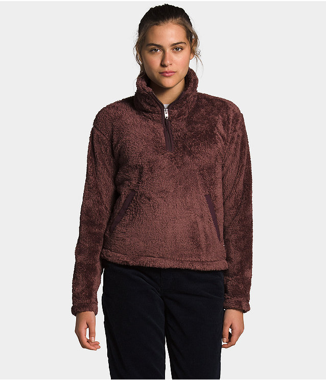 Women's Furry Fleece Pullover