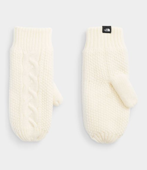 Women's Cable Minna Mittens | The North Face