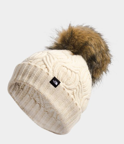 Youth Oh-Mega Fur Pom Beanie | The North Face