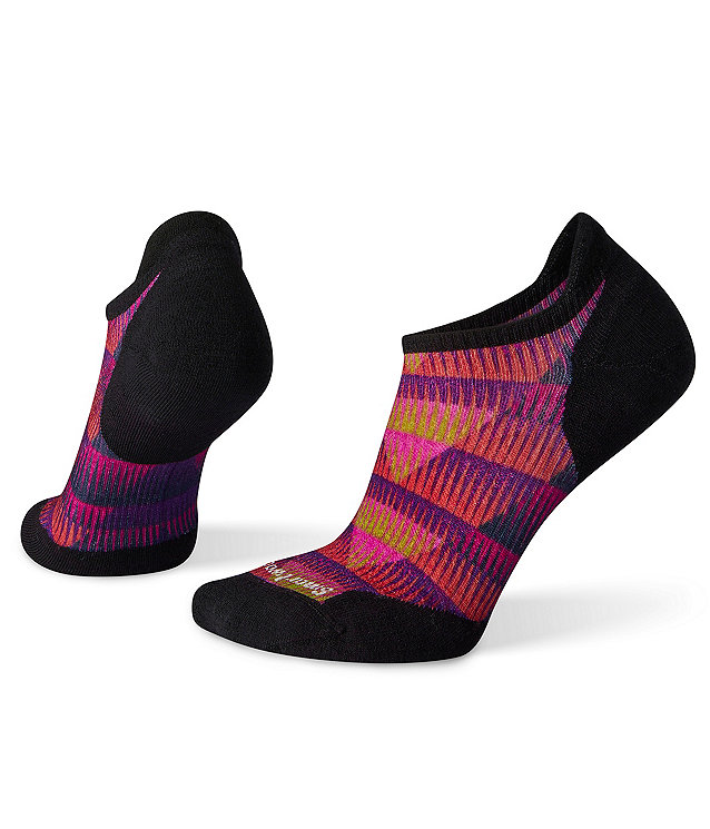Smartwool Women's PhD® Run Light Elite Chevron Print Micro Socks