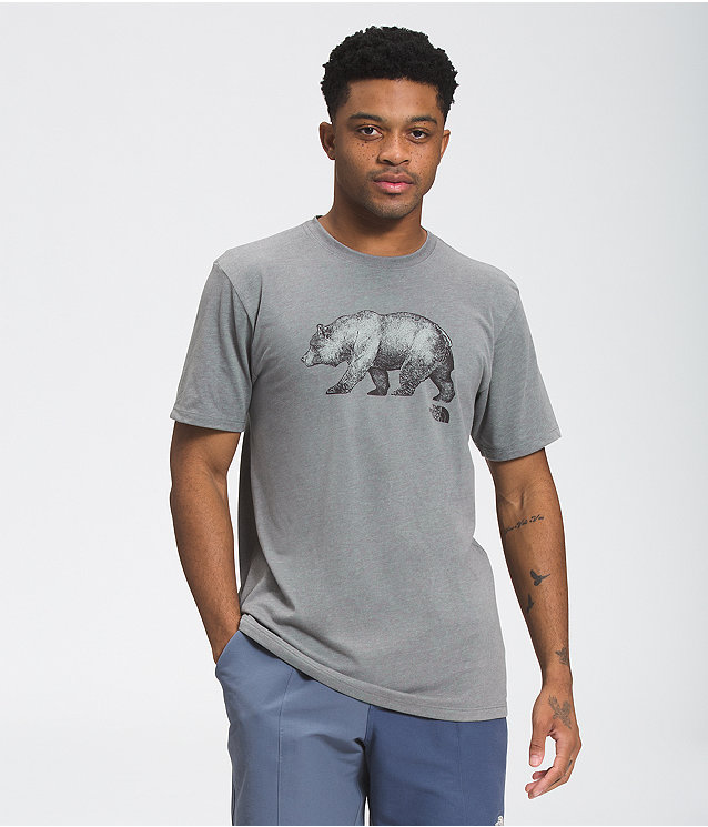 Men's Short Sleeve Bear Tee