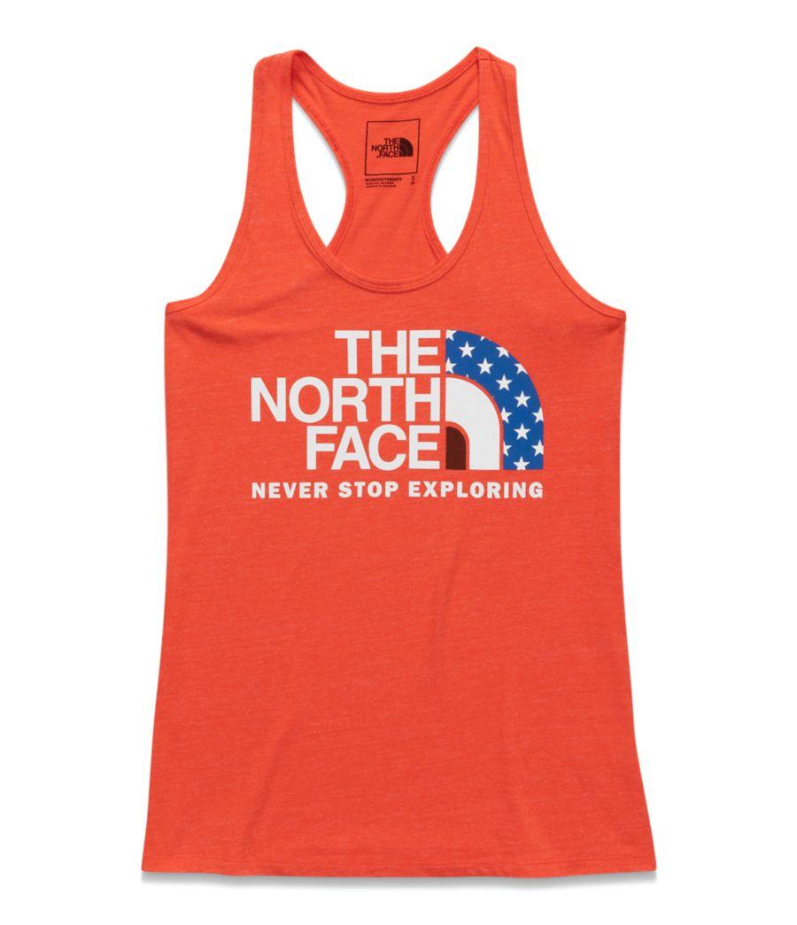 Women's Americana Star Half Dome Tank-