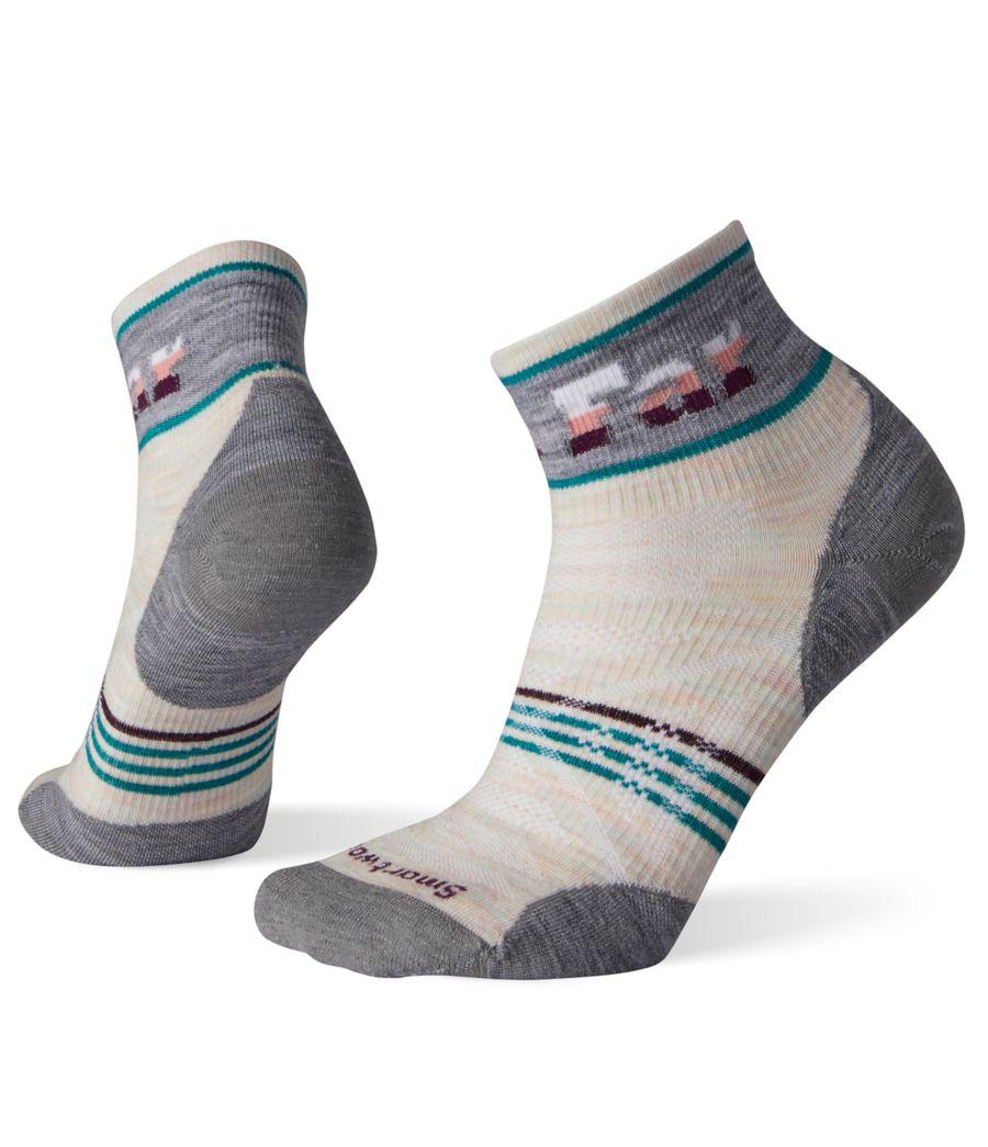 Smartwool Women's PhD® Outdoor Ultra Light Pattern Mini Socks-