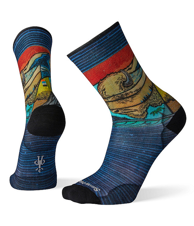 Smartwool Men's Curated Buffalangalo Crew Socks