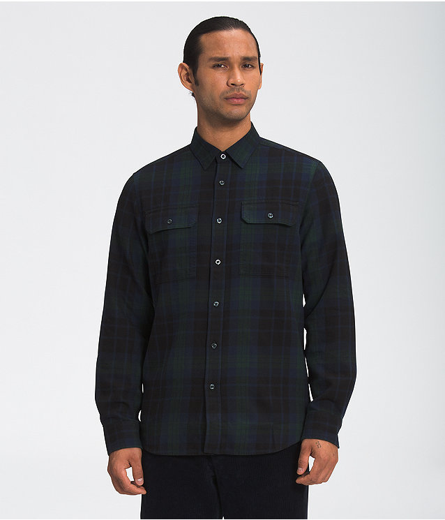 Men's Long Sleeve Lightweight Arroyo Flannel