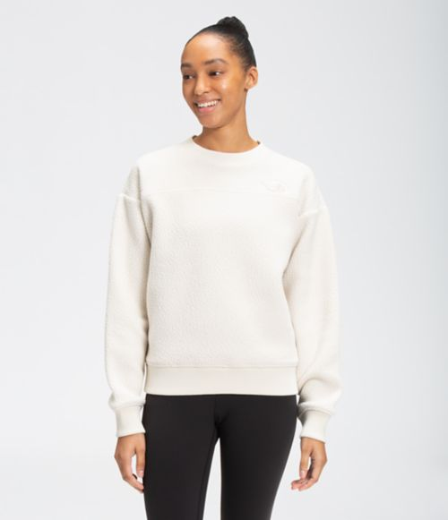 Women's Sherpa Pull Over Crew   The North Face