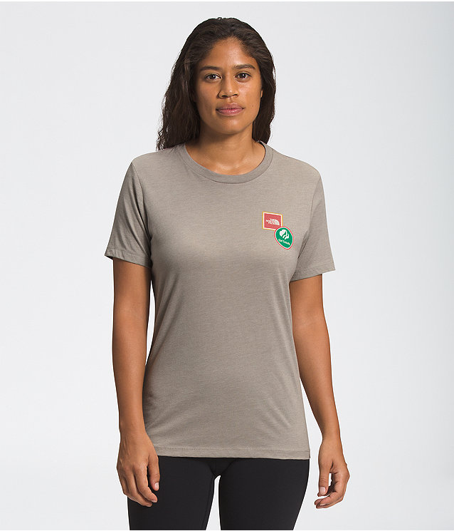 WOMEN'S TNF X GIRL SCOUTS SHORT SLEEVE RELAXED TEE