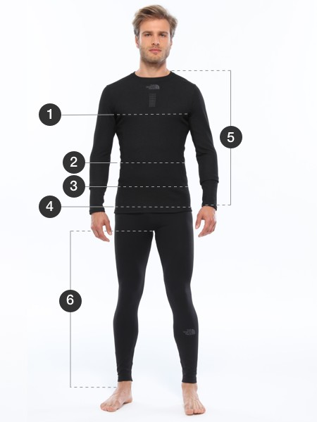 The North Face Size Charts For Clothing Jackets Shoes