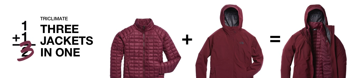Women's 3 in 1 & Triclimate Jackets   Free Shipping   The